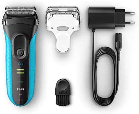 accesorios Braun Series 3 ProSkin 3040 s - Afeitadora Eléctrica Hombre, para Barba, Inalámbrica, Recargable, Wet&Dry (Seco y Mojado), Recortado